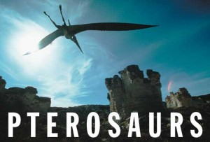 Life-sized model of a pterosaur, an ancient flying reptile, soars onces again over western Kansas