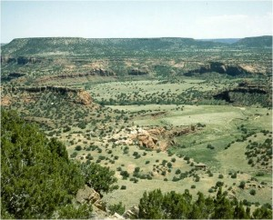Purgatoire River Canyon in southeastern Colorado