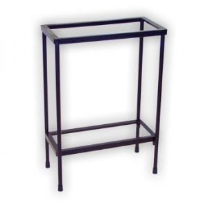 Basic metal aquarium stand