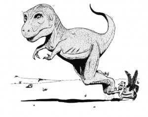 How to kill Tyrannosaurus