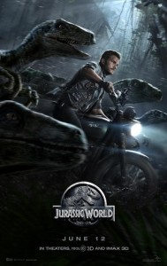 """Jurassic World poster"" by Source (WP:NFCC#4). Licensed under Fair use of copyrighted material in the context of Jurassic World"">Fair use via Wikipedia."